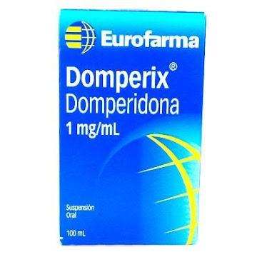 DOMPERIX 1MG/ML   SUSPENSIÓN ORAL FCO. X100ML.EUROFARMA DOMPERIDONA