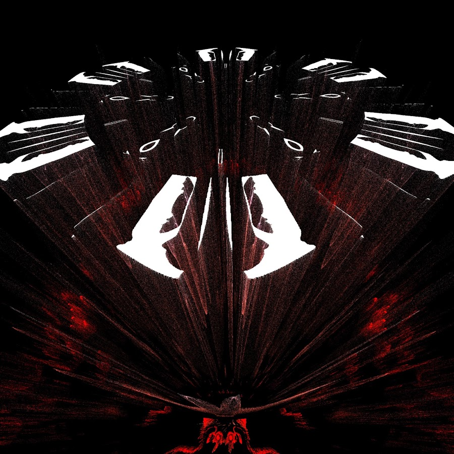 Hell clock by Did Art - Digital Art Abstract ( red, digital, white, 666, black, abstract, clock, hell )