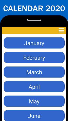 Church Calendar 2020 ss1