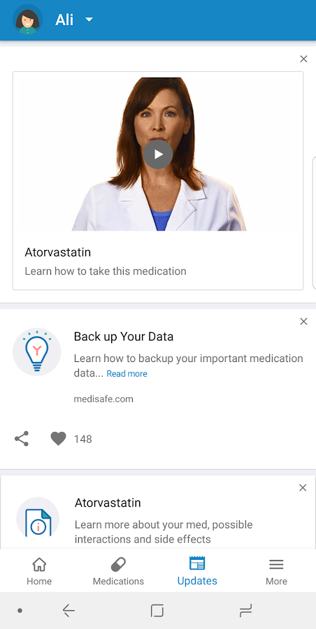 Medisafe Pill Reminder- screenshot