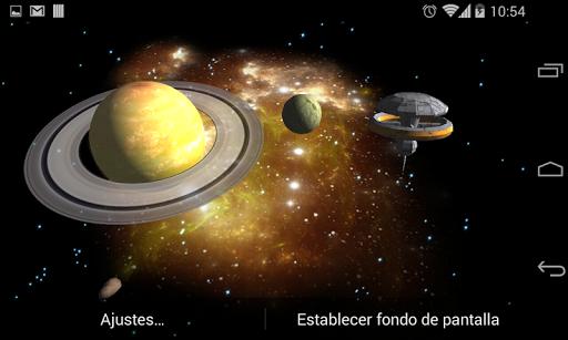 3D Galaxy Live Wallpaper 4K Full screenshot 11