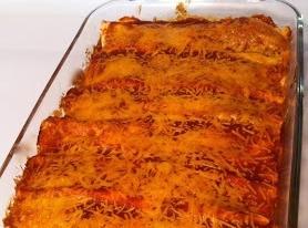 Zucchini And Cheese Enchiladas Recipe