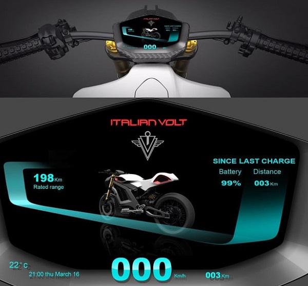 Несомненно, итальянский Volt, вдохновленный новаторской работой производителя электрических автомобилей Tesla, сделал эффективную зарядку своего нового электрического мотоцикла главным приоритетом