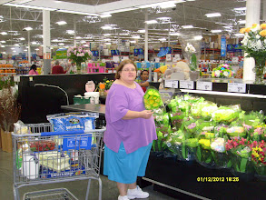 Photo: These are the ones I want!  You can see my cart behind me,  I forgot to take a photo of my cart before I checked out!