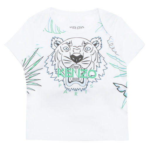 Primary image of Kenzo Kids White Tiger Tee
