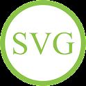 SVG to PDF icon