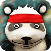 Cartoon Panda Run