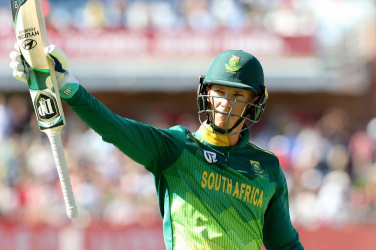 Van der Dussen misses elite 100 but makes his mark