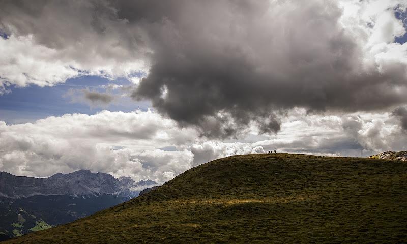 La proporzione uomo montagna di Sebastiano Pieri
