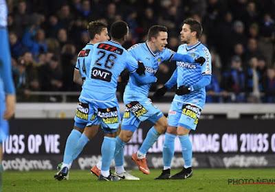 Avant le déplacement à Bruges, le joueur du Sporting Charleroi Gaëtan Hendrickx met la pression
