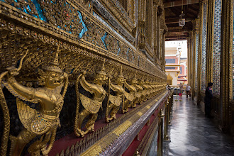 Photo: The Bot of the Emerald Buddha, the most sacred temple in Thailand.
