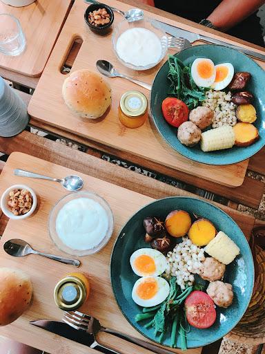 純粹璞實的小地方😍😍 簡單健康又不失美味的早餐😋😋  開心生活周遭環境的改變 彰化也越來越多有味道有溫度的地方💕
