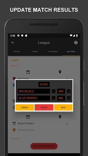 Winner - Tournament Maker App, League Manager 9.1.0 Screenshots 7