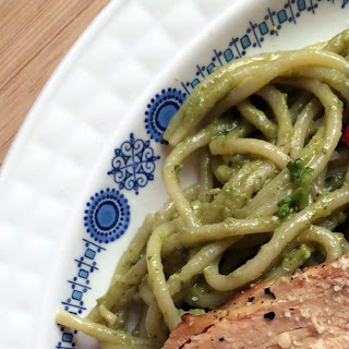 Simple Pesto Pasta With Chicken