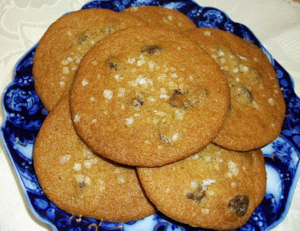 Maldon Salted Caramel Delightful Cookies Recipe