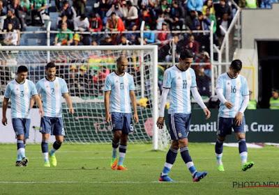 Voici comment l'Argentine pourrait manquer le Mondial 2018