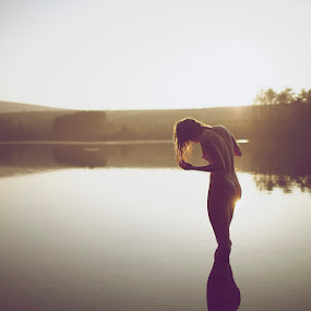 Lady of the Lake by Scott Morgan - Nudes & Boudoir Artistic Nude