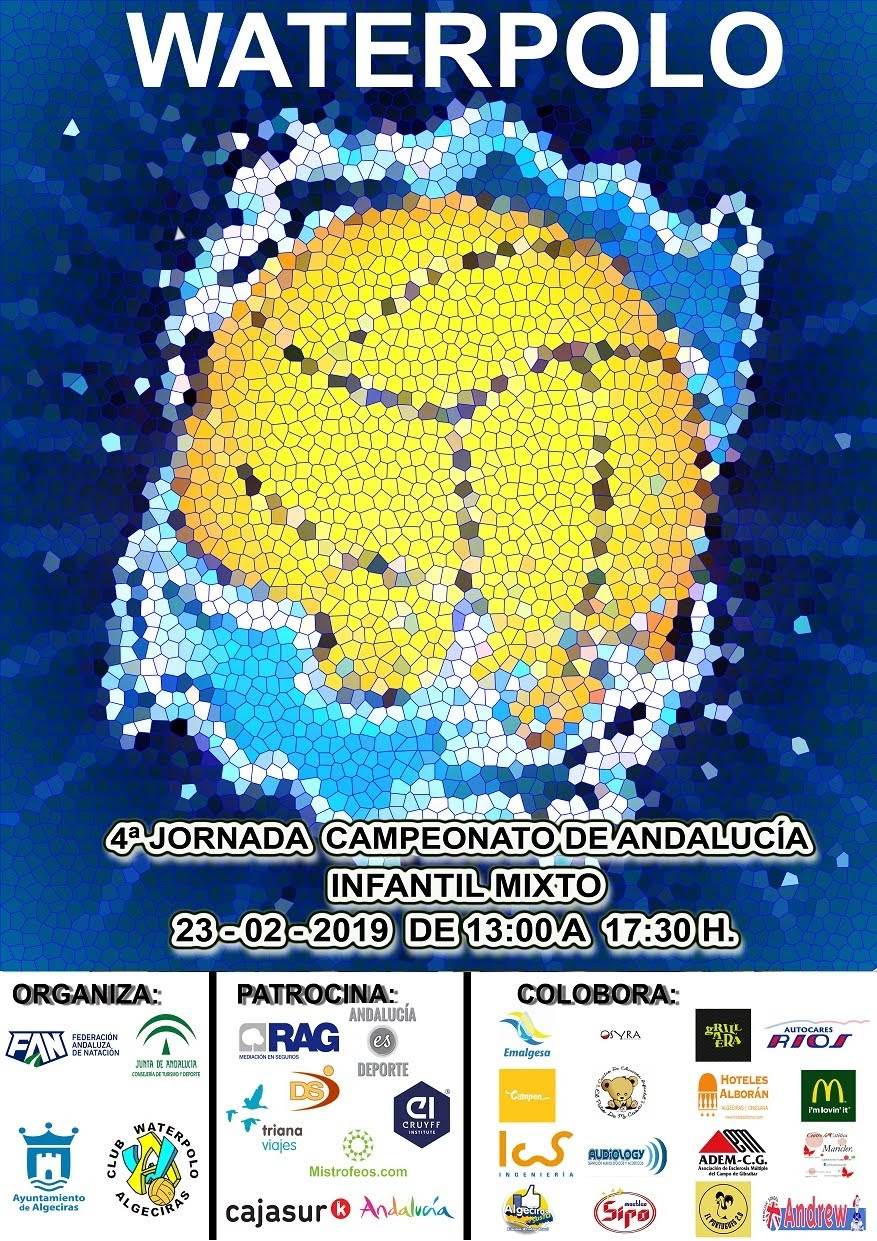 Agenda fin de semana para el Waterpolo Algeciras