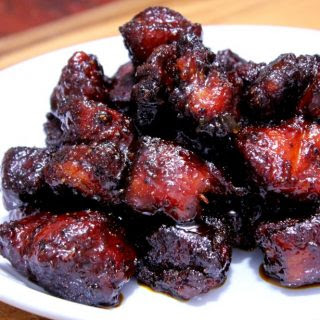 Smoked Pork Belly Burnt Ends - Yes Please!.