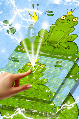 Frog Keyboard Theme - screenshot