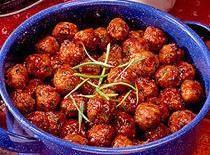 Glazed Ham Ball Appetizers Recipe