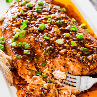 Firecracker Baked Salmon Recipe