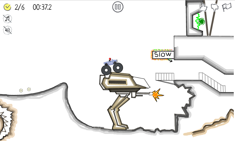 Paper Racer - stickman racing – Screenshot
