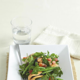 Spicy Mussel and Bean Salad