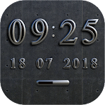 BERLIN Digital Clock Widget