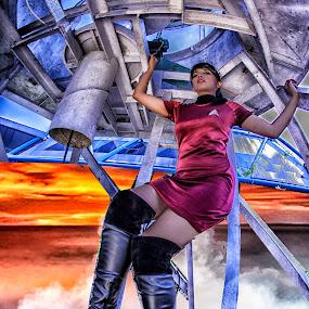 Just landing by Julianto Soeroso - Digital Art People