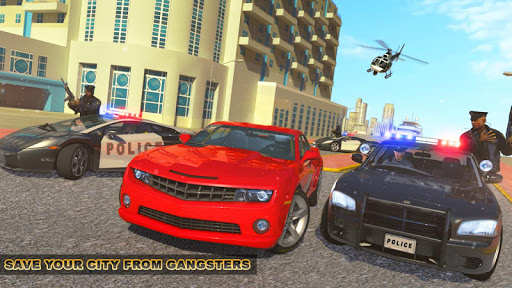 Crime Cop Car Chase Mission