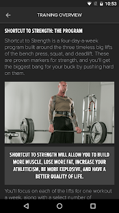 Stoppani Shortcut to Strength- screenshot thumbnail