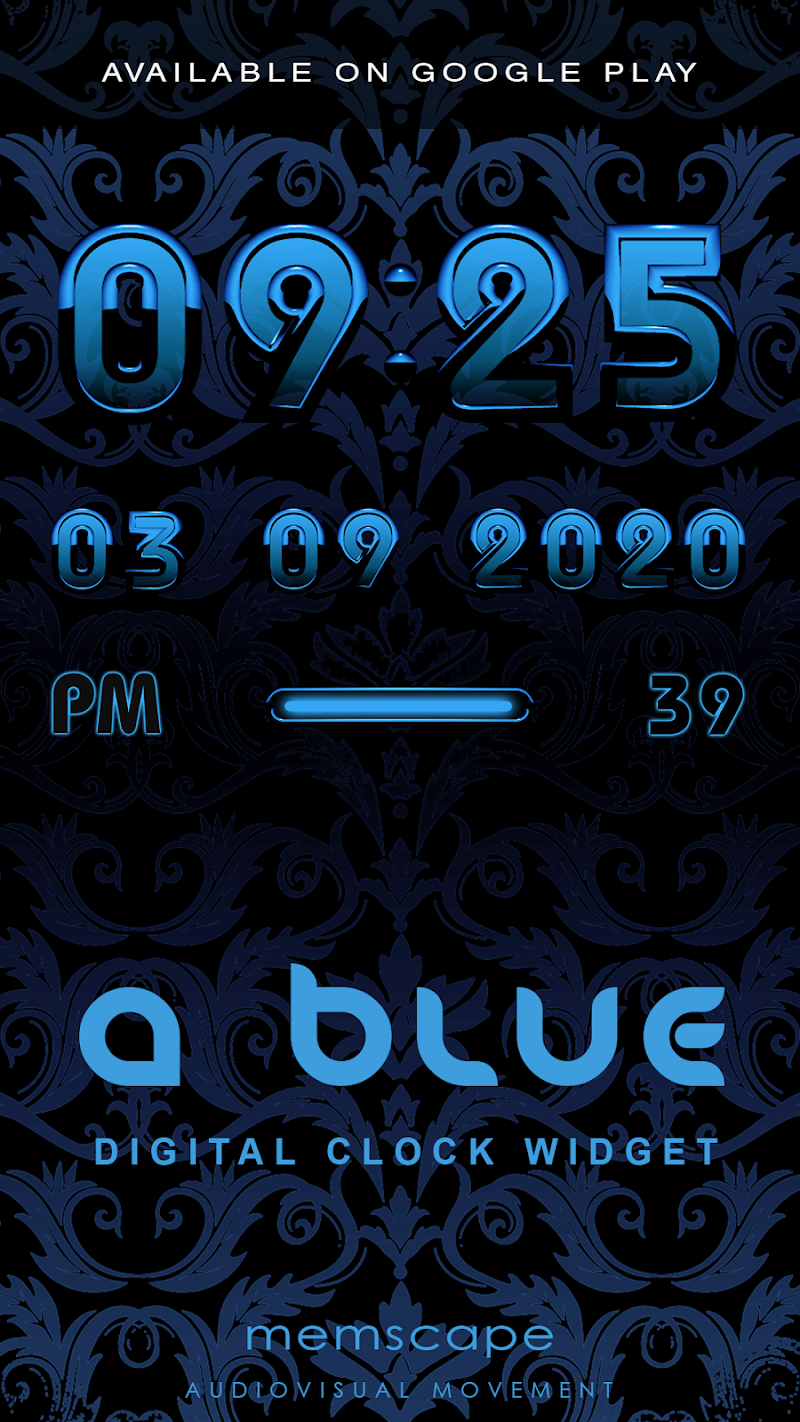 A-BLUE Smart Launcher Theme Screenshot 5
