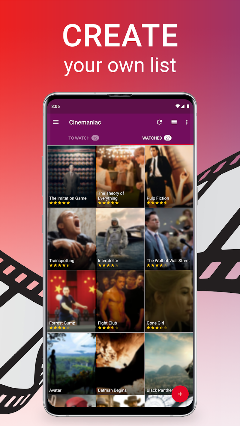 Cinemaniac - Movies To Watch Screenshot 1