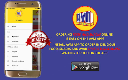 Avm Chips And Cafe Apps On Google Play