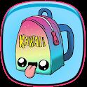 kawaii wallpaper HD icon