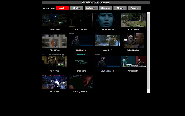 Movie TV channels and more