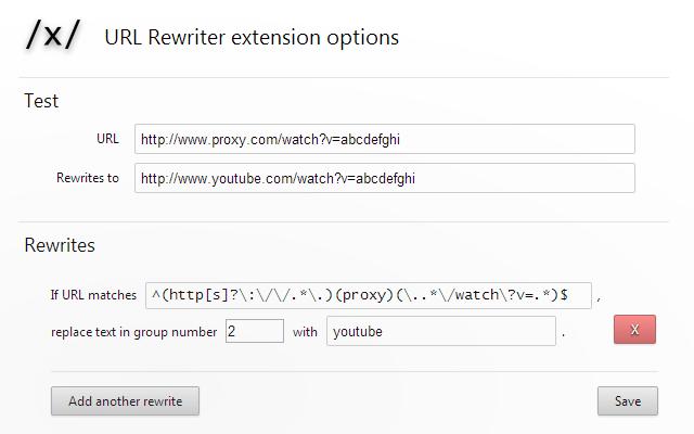 URL Rewriter