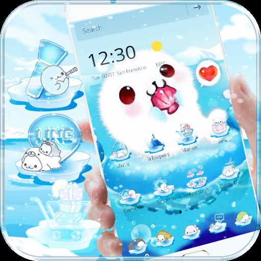 Aquarium Sea Seals Theme Wallpaper
