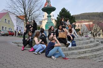 Photo: Projekt Comenius v Ostravě a v Beskydech v rámci partnerských škol z Anglie, Španělska a našeho gymnázia (neděle 21. - pátek 26. duben 2013).