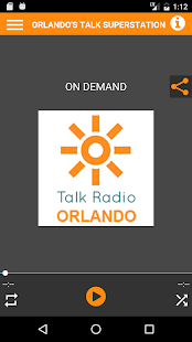 Talk Radio Orlando- screenshot thumbnail