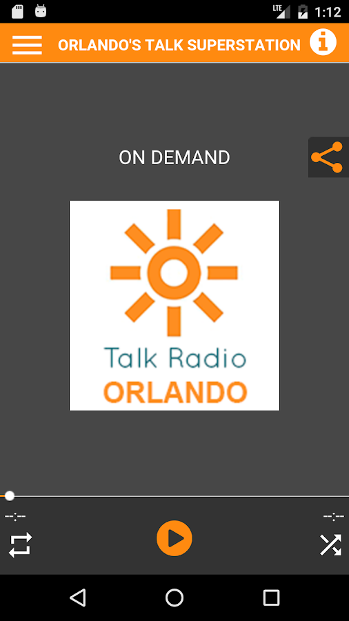 Talk Radio Orlando- screenshot