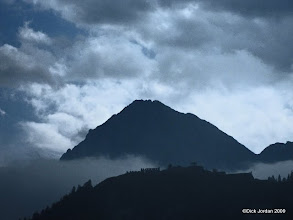 Photo: Cloudy Mountains, Reutte, Austria