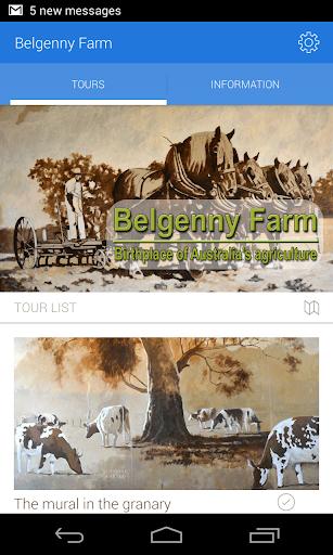 Belgenny Farm tours