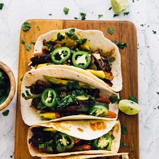 30-Minute Vegan Portobello Fajitas.