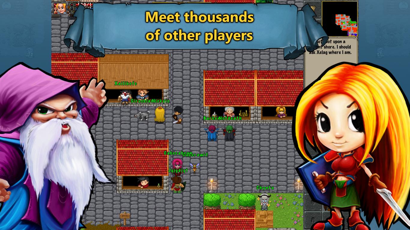 TibiaME MMO- screenshot