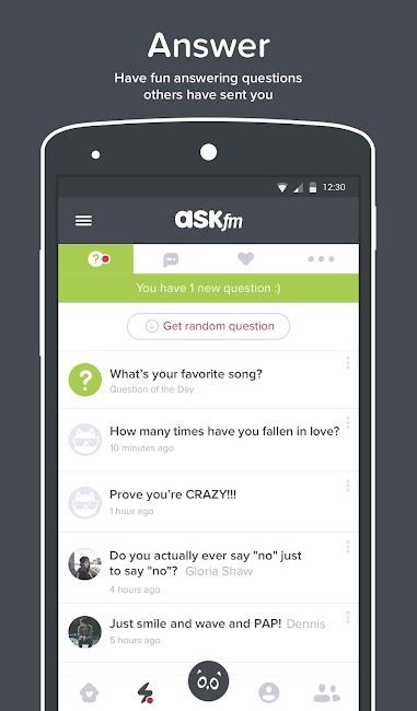 #3. ASKfm (Android)