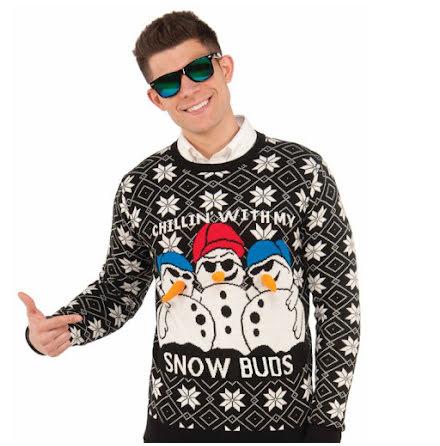 Jultröja, snögubbe M