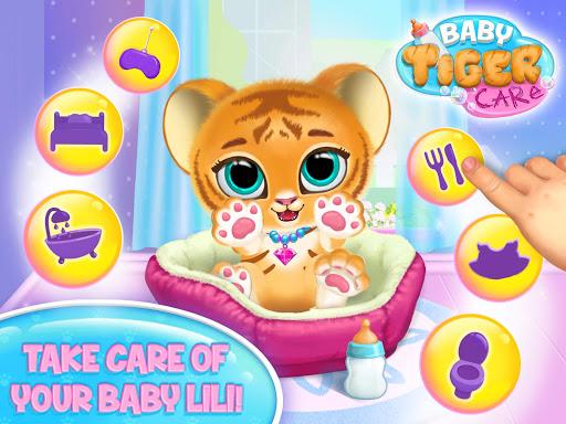 Baby Tiger Care - My Cute Virtual Pet Friend apktram screenshots 13
