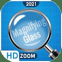 Magnifier & pocket eye magnifier camera icon